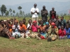 Villages listen intently as Gerrit shares message of hope and reconciliation